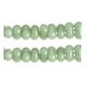Bow Beads (Farfalle) 3.2x6.5mm Green Alabaster Solgel